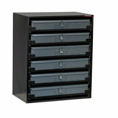 "25"" H x 20.5"" W Compartment Tray Storage Rack"