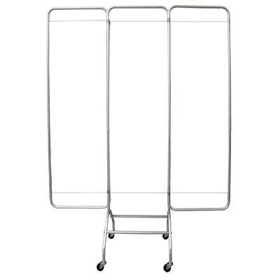 Economy Screen Frame 3 Panel Room Divider