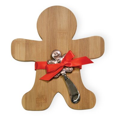 Gingerbread Man Cutting Board & Spreader Set