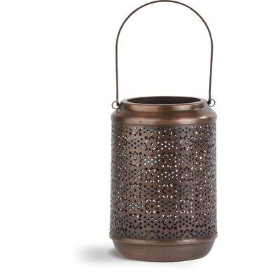 Ivyline Firefly Moroccan Cutout Metal Lantern