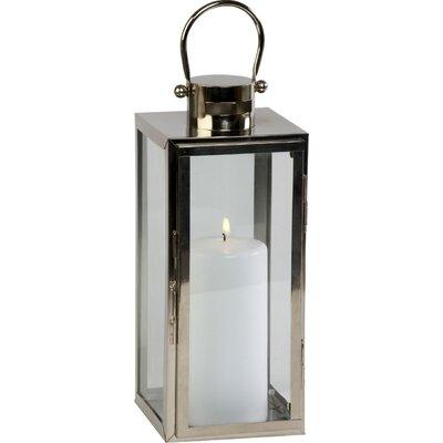 Ivyline Firefly Platinum Tall Square Lantern