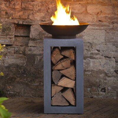 Ivyline Firefly Iron Wood Firepit