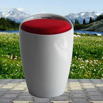 Schnapps Stool Color: White