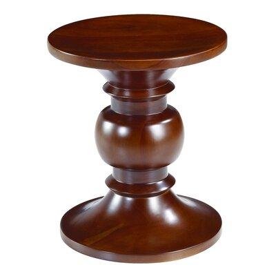 Style B Stool Color: Walnut