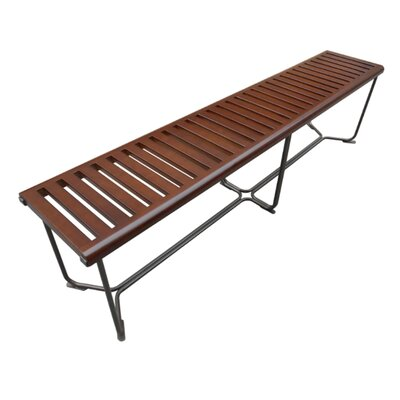 "Solid Wood Bench Size: 18.5"" H x 72"" W x 14"" D"