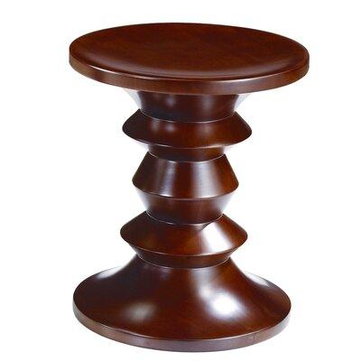 Style C Stool Color: Walnut