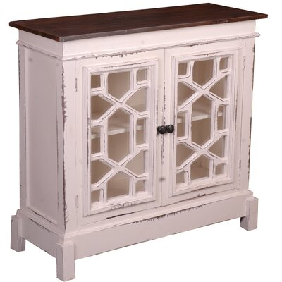 Vonda 2 Door Accent Cabinet