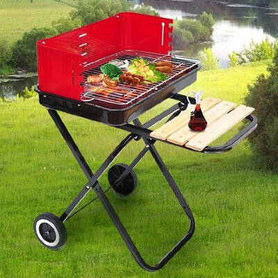 Homcom Charcoal Barbecue 4