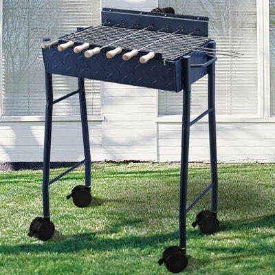 Homcom Pedestal Charcoal Barbecue