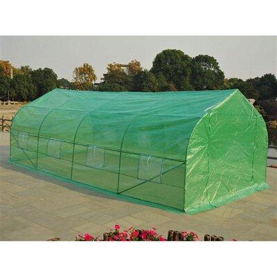 Homcom 20 Ft. W x  10 Ft. D Polytunnel Greenhouse