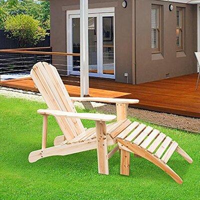 Homcom Adirondack Chair Lounger