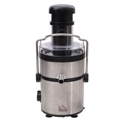 Homcom Professional Electric Stainless Steel Juicer