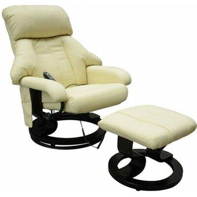 Homcom Massage Recliner and Footstool