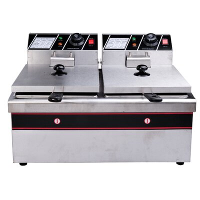 Homcom Double Electric Fryer