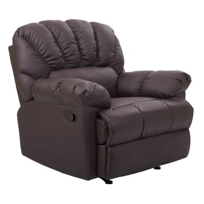 Homcom Leather Home Seater Recliner