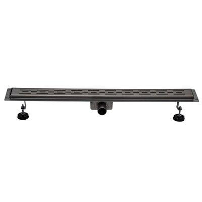 Homcom 70 cm x 7 cm Linear Channel Shower Floor Drain