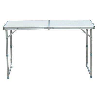 Homcom Rectangular BBQ Aluminium Camping Picnic Table