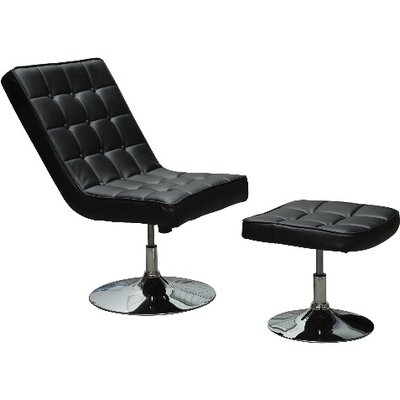 Homcom Swivel Recliners Lounge Chair