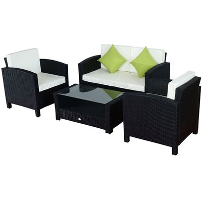 Homcom Outsunny Sofa Set with Cushions