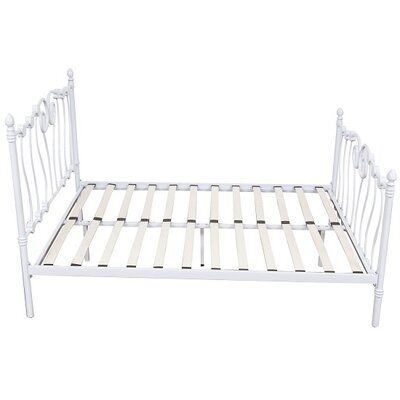 Homcom Victorian European Single Bed Frame