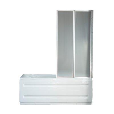 Homcom 140cm x 80cm Folding Bath Screen