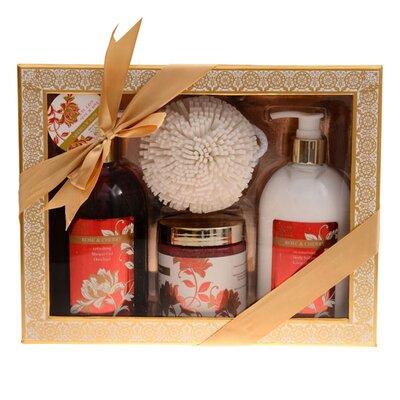 Homcom Deluxe Shower Bath Ball Mother's Day Christmas Gift Set Toiletry Body Shower Gel