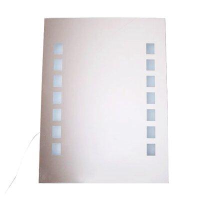 Homcom Dustproof LED Light Illuminated Bathroom Mirror