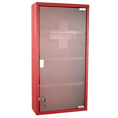 Homcom 30cm x 60cm Surface Mount Flat Medicine Cabinet