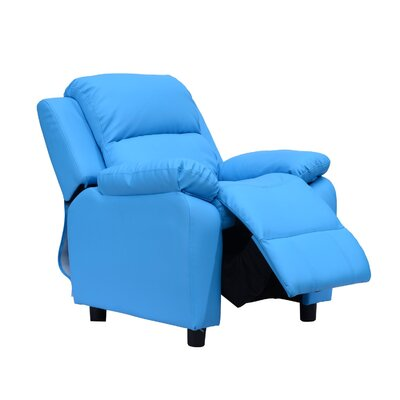 Homcom Storage Space on Arms Recliner