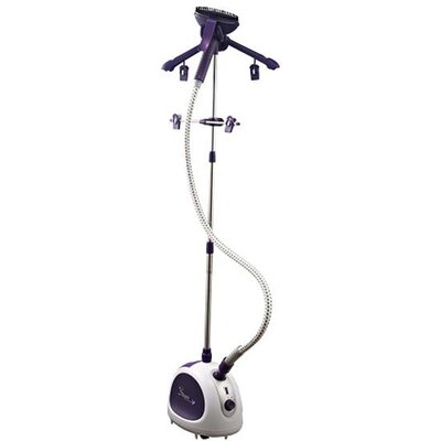 Homcom Professional Portable Clothes Steaming Ironing Sterilization + Hanger and Fabric Brush
