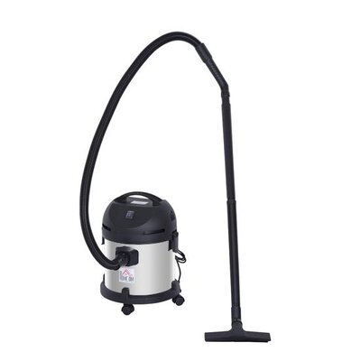Homcom 1200W Wet and Dry Vacuum Cleaner 20L Capacity with Accessories