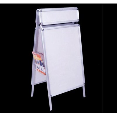 Homcom A-Board Display Frame Snap Poster Stand