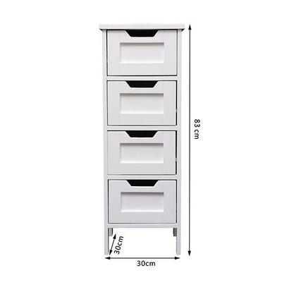 Homcom 30 x 83cm Free Standing Cabinet