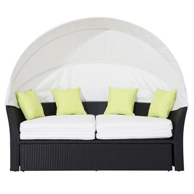 Homcom Outsunny 4 Seater Daybed with Cushion