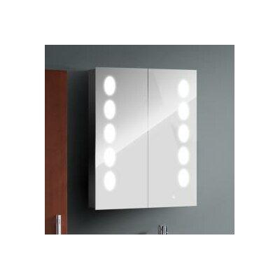 Homcom 68 x 125cm Surface Mount Flat Mirror Cabinet
