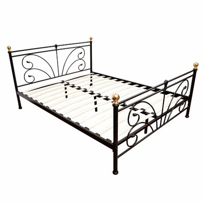 Homcom Pretty Butterfly European King Bed Frame