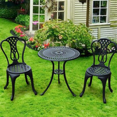 Homcom Patio 2 Seater Bistro Set