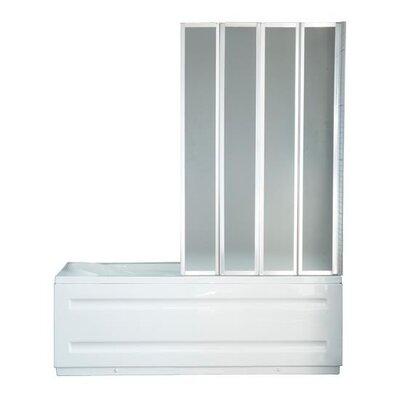 Homcom 140cm x 100cm Folding Bath Screen