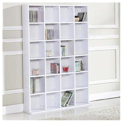 Homcom Wooden 130.5cm Bookcase