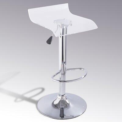 Homcom Swivel Adjustable Bar Stool