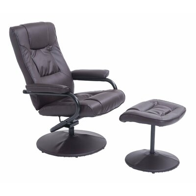 Homcom Chair High Back Swivel Executive Recliner
