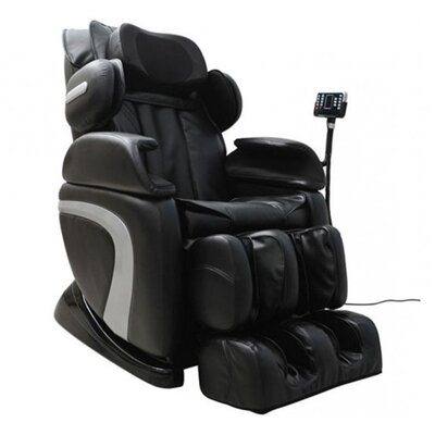 Homcom Luxury Reclining Leather Massage Chair Automatic Zero Gravity Relax
