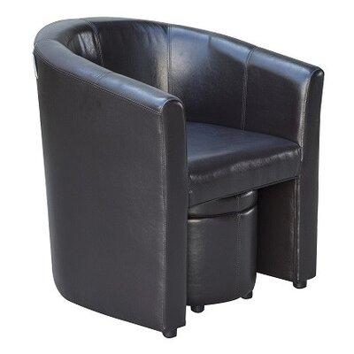 Homcom Luxury Tub Chair and Ottoman