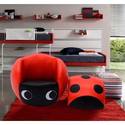 Homcom Ladybug Kids Club Chair