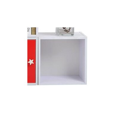 Homcom Wood Storage Cube 35cm Bookcase