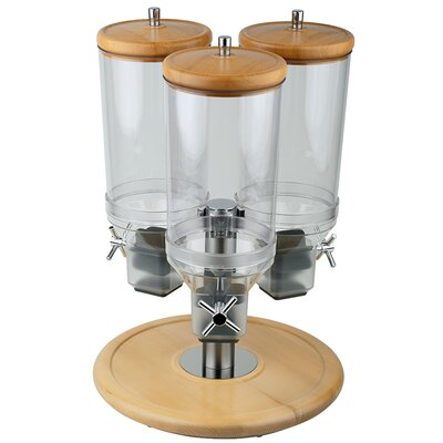 APS Rotation Cereal Dispenser made of Beech Wood