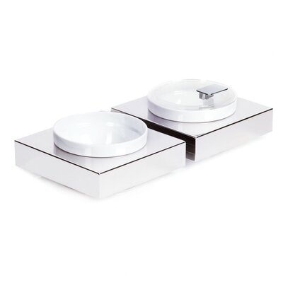 APS Square Bowl Box made of Stainless Steel
