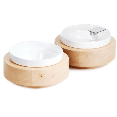 APS Round Bowl Box made of Maple Wood