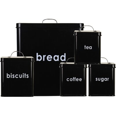 A Place for Everything 5-Piece Canister Set