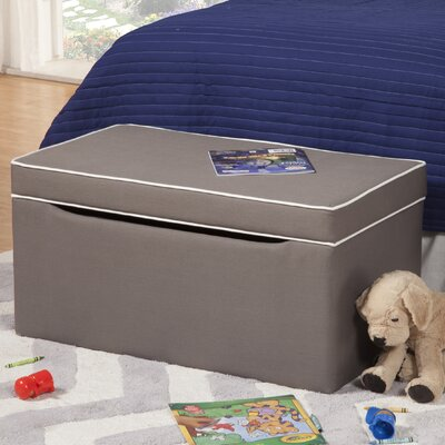 Storage Bench Upholstery: Medium Gray